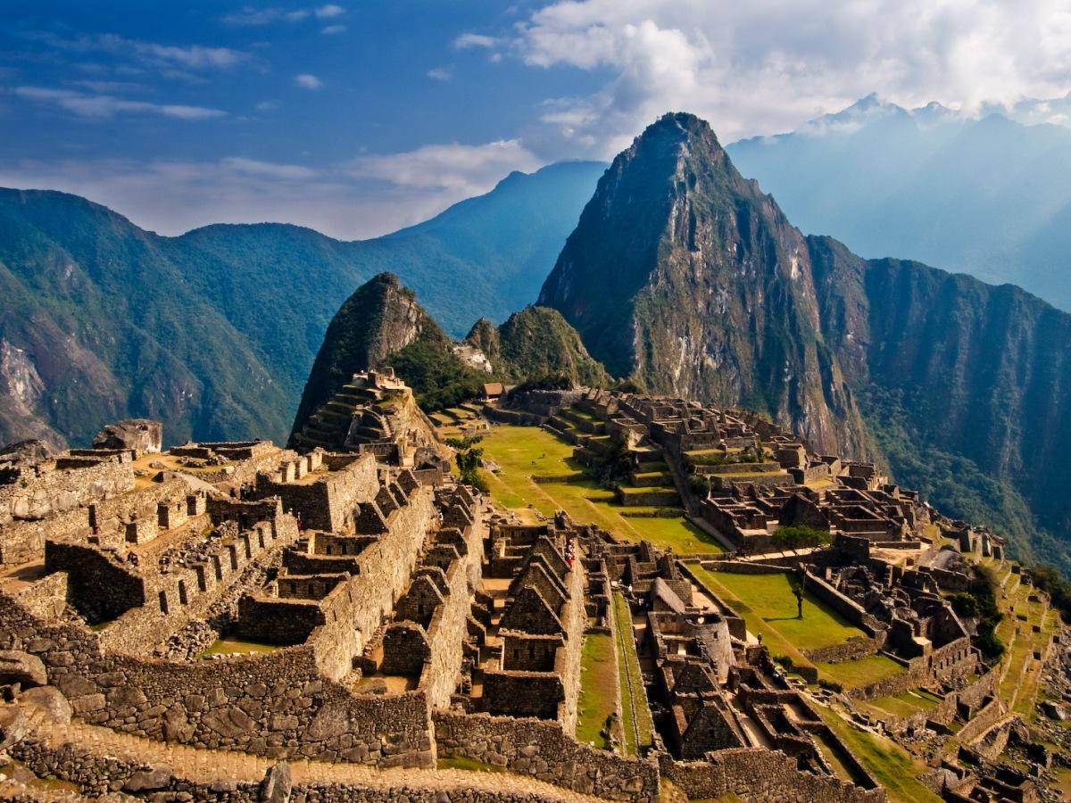 Machu Picchu, exemple de construction Inca (de bon matin)