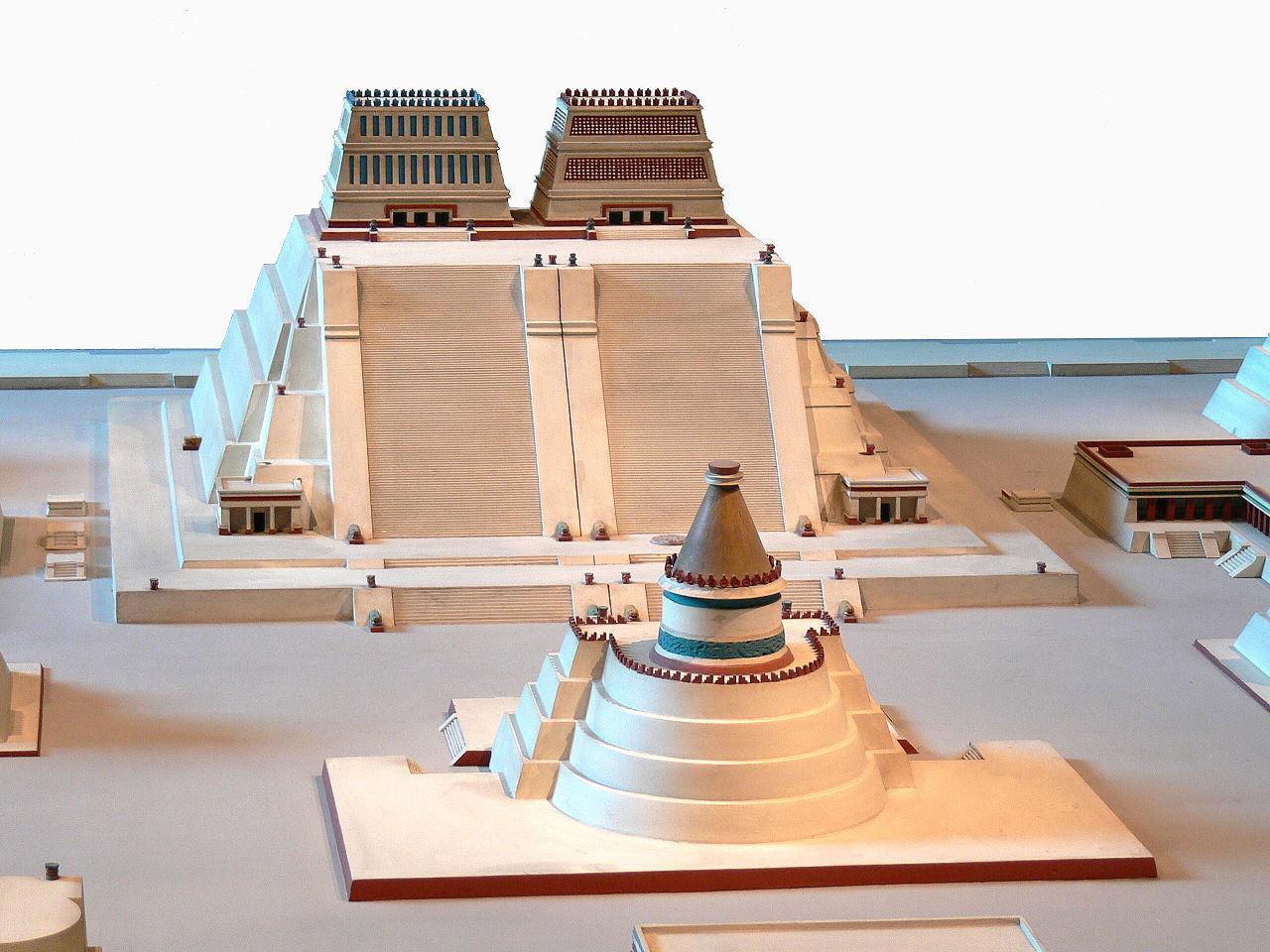 Reconstruction du Templo Mayor de Tenochtitlan